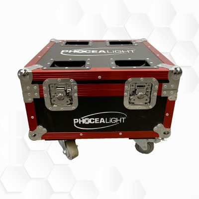 Flight case BOX LEDs - 6en1