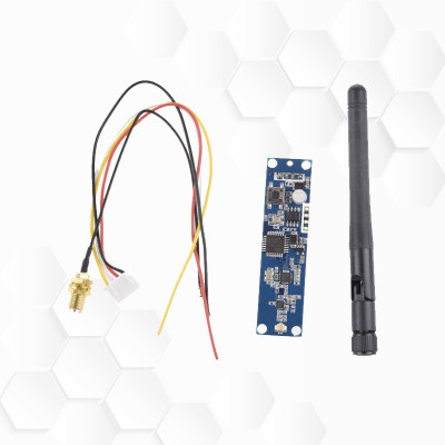Intégration DMX HF sur lyre