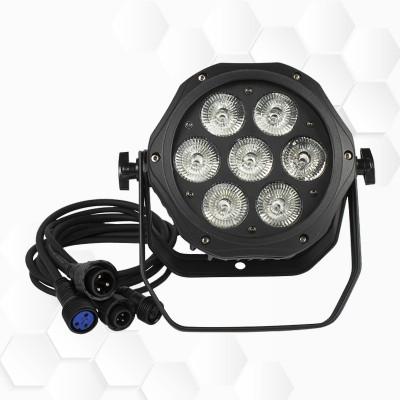 PAR LEDs 7x12W RGBW IP65
