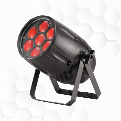 PAR LEDs 7x40W Zoom IP65