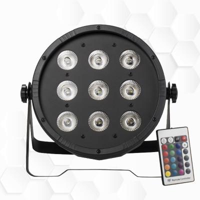 Par LEDs 9x12W RGBW