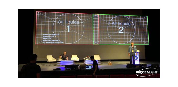 Pixels Video Services équipé d'un Mur à LEDs de 15 m² P4,81